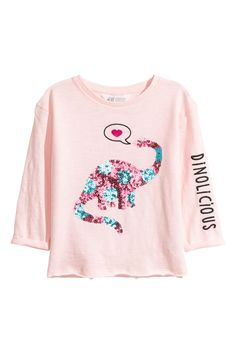 Just Another Tee Always Be Yourself Unless You Can Be A Dinosaur Watercolour Diplodocus Kids Long Sleeve Hooded Top White