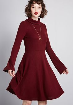 5ca22618f8d No matter where you sport this sweater dress from our ModCloth namesake  label