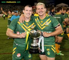 Paul Gallen and Greg Bird Australia   MadAussie.com Rugby League, Australia, Bird, Stars, Funny, Sterne, Birds, Ha Ha, Hilarious