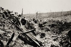 WW1, Verdun sector, August 1916. French soldiers of the 27th Infantry Regiment…