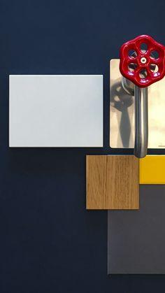 moodboards ad alto contrasto di colori per una casa eccezionale Home