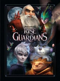 Rise Of The Guardians Poster Standup 4inx6in