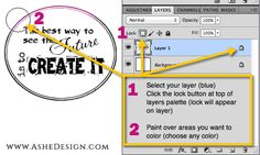 Want a quick and easy way to paint color in your Word Art?Use the Social Media Icons below to Share this Photoshop Tip.
