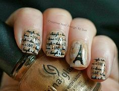 The Nail Challenge Collaborative-Love Stamp With Hearts   Creative Nail Design by Sue   Bloglovin
