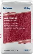 Allegro II Cement Coating provides a cost-effective, durable and long-lasting colored coating that can be applied to portland cement surfaces such as: Stucco, Paint grade stucco, Concrete block/Concrete masonry unit (CMU) and Precast concrete.