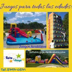 Amplia variedad de opciones para entretener a los invitados a tu #evento!  Información #SaltayJuega 57970571 / inbox / Local 17 C.Com. La Floresta zona 7 / saltayjuega@gmail... #celebración #cumpleaños #fiesta #fiestainfantil #juegos #niños #Guatemala #inflable #saltarin #saltar