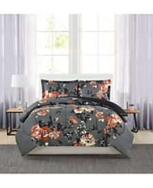 Hallmart Collectibles Amanda 3-Pc. Reversible Comforter Sets & Reviews - Bed in a Bag - Bed & Bath - Macy's Floral Bedspread, Bedroom Sets, Master Bedroom, Bedrooms, Bed In A Bag, New Beds, Modern Traditional, Queen, Bed Spreads