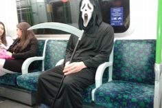 #Halloween fever is even taking over the London Underground!