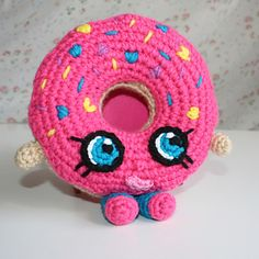 Shopkins D'Lish Donut _ Crochet Pattern Diy Shopkins