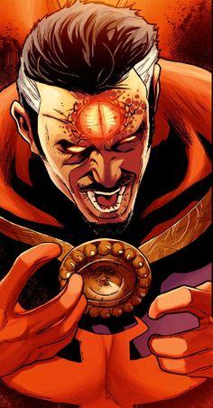 Dr Strange by Kev Walker Marvel Comic Character, Comic Book Characters, Marvel Characters, Marvel Fan, Marvel Dc Comics, Marvel Heroes, Doctor Strange, Deadpool, Strange Tales