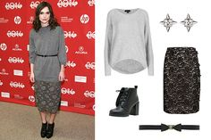 Keira Knightley's Oversized-Sweater Look Is Perfect For Your 9-to-5 #Refinery29
