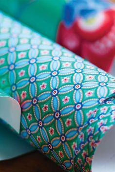 Geometric behang groen - Pip Studio