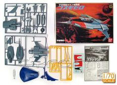 Space Battleship Yamato / Star Blazers: Cosmo Zero 52 Raumjäger (http://www.cyram-entertainment.de/shop/products/Modellbau/Anime-Manga/Space-Battleship-Yamato/Cosmo-Zero-52.html)