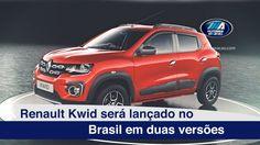 Renault Kwid será lançado em duas versões no Brasil