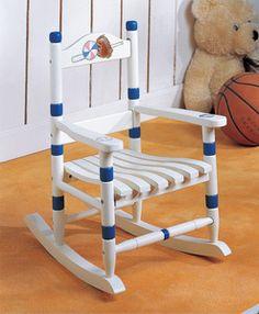 All Star Baseball Rocking Chair