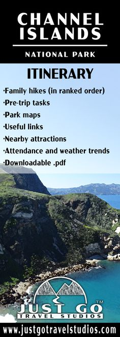 Our Channel Islands National Park itinerary will help you get started with your planning!  Use our downloadable .pdf to learn about family hikes, places to visit, how to get to the Channel Islands and what you can expect while you are there.