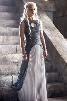 The Game of Thrones effect: how the cult TV show is influencing the way we dress Game Of Thrones Costumes, Game Costumes, Cool Costumes, Daenarys Targaryen, Emilia Clarke Daenerys Targaryen, British Costume, Elf Cosplay, Female Hero, Mother Of Dragons