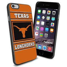 """Texas Longhorns Cougars iPhone 6 4.7"""" Case Cover Protector for iPhone 6 TPU Rubber Case SHUMMA http://www.amazon.com/dp/B00T2TQ41O/ref=cm_sw_r_pi_dp_JNfmvb0RHA0BE"""