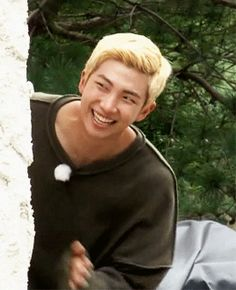 kim namjoon... that smile