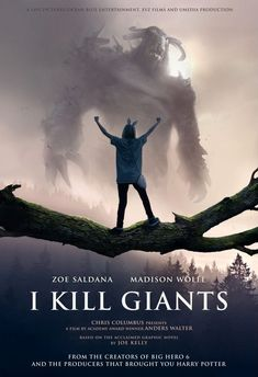 I Kill Giants  (2018)  Barbara (Madison Wolfe) is a young loner who struggles through life by escaping into a world of magic and monsters. Barbara is convinced that her town is going to be attacked by giants. The question is, is Barbara crazy or does she know something that no one else knows?  The trailer looks phenomenal, and it has one of my favorite actresses in it, Zoe Saldana.  https://lastonetoleavethetheatre.blogspot.com/2018/02/winchester.html
