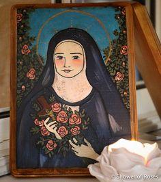 Shower of Roses: A Morning Prayer Written by Saint Thérèse