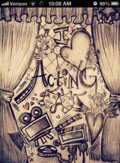 I love acting!