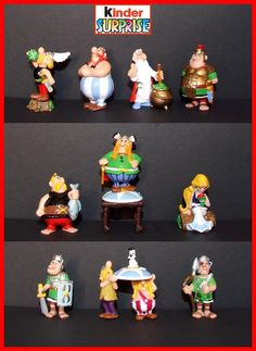 2003 Asterix and The Romans Ferrero Kinder Surprise Complete Set   eBay