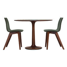 """Made by Zeitraum in Germany, this is the classic """"tulip"""" made in beautiful Walnut."""