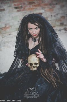 Model: Savra Photographer: Project Jeziorka Dress, cape, veil Sinister necklace: Alchemy Gothic for The Gothic Shop - www.the-gothic-shop.co.uk Corset: PaperCats Welcome to Gothic and Amazing |...