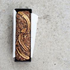 choco-oat-nut banana bread, to which I want to add coffee next time. | tara o'brady instagram