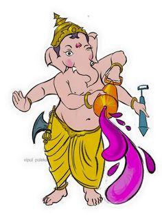 Ganesha Sketch, Kids Room Art, Lord Ganesha, Pencil Art, Drawings, Fictional Characters, Sketches, Drawing, Fantasy Characters
