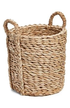 Levtex Levtex Natural Straw Basket available at #Nordstrom