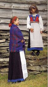 Hello all, Today I will cover the last province of Norway, Hordaland. This is one of the great centers of Norwegian folk costume, hav. Folk Costume, Costumes, Traditional Outfits, Diy Clothes, Norway, Lace Skirt, Daughter, Culture, Embroidery