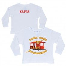 Daniel Tiger's Neighborhood White Long Sleeve Tee