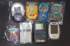 Vintage BATTLESHIP Sorry OTHELLO Lot of HANDHELD Electronic GAMES STRESS RELIEF #Unbranded