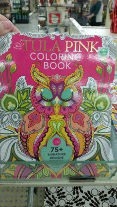 Tula Pink Coloring Book At Hobby Lobby