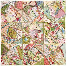 Foolproof Crazy Quilting - a book by Jennifer Clouston (CT Publishing)