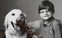 A special young boy named Creed Campbell spent most of his short life battling illness. He spent half his life in the hospital, but thanks to a special bond formed with a service dog named Casper the young boy had a best friend and happy memories.