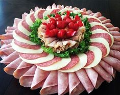 food presentation ideas at home \ food presentation . food presentation ideas at home . food presentation tips . Charcuterie Platter, Meat Platter, Meat Trays, Appetizers For Party, Appetizer Recipes, Party Recipes, Dessert Recipes, Meat And Cheese Tray, Cheese Art