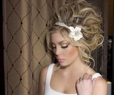 big hair - forget the wedding ... Rock the hair!