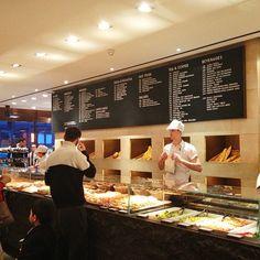 Princi: good for grabbing a pizza or foccacia slice on the go (and the brioche is good too) http://www.princi.com/
