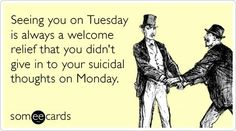 Oh Tuesday.