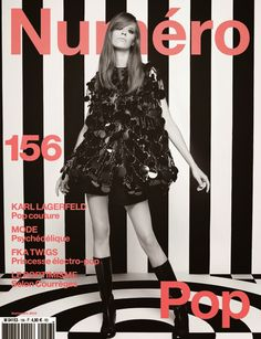 nice Numéro #156 Setembro 2014 | Sasha Luss, Lexi Boling e Maartje Verhoef por Karl Lagerfeld  [Capas]
