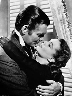 Gone With The Wind Kissing Scene Photo por Movie Star News na AllPosters.com.br