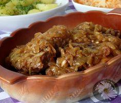 Kulinarne szaleństwa Margarytki: Karkówka z piekarnika z duszoną cebulą