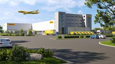 """DHL Express to build a new #cargo facility at Munich Airport to cope with the substantial increase in import and export volume.  The 8,000 square meters big new facility will have direct airside access and two """"PUD"""" (pick-up and delivery) fingers enabling up to 65 delivery vehicles to be dispatched simultaneously.  Construction of the €70m new facility is scheduled to commence in 2022. International Companies, International Airport, Stock Options, Aviation Industry, The Next Step, In Law Suite, Travel News, Munich, Germany"""