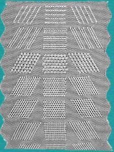 Het borduren van Lierse Kant