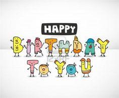 Boldog születésnapot kártya - Happy Birthday card