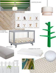 Nursery mood board / With Love, Design