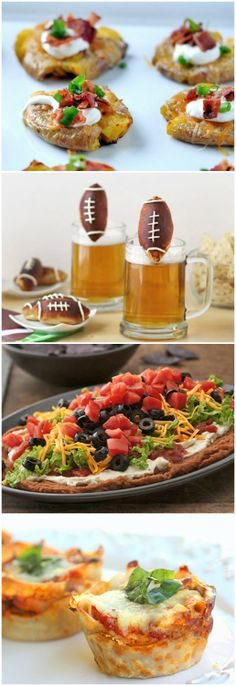 Score: Our 18 Best-Ever Football Appetizers Superbowl Food Game Day Appetizers, Yummy Appetizers, Appetizer Recipes, Snack Recipes, Football Food, Football Score, Football Themes, Football Season, Real Food Recipes